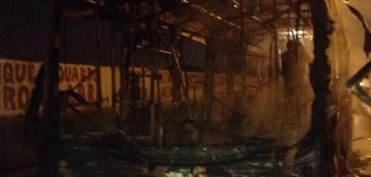 transantiago quemada